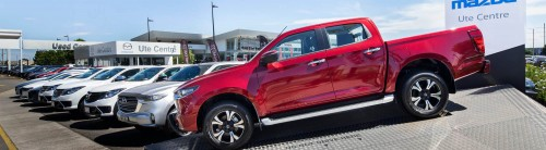 Mazda BT-50 Ute Centre